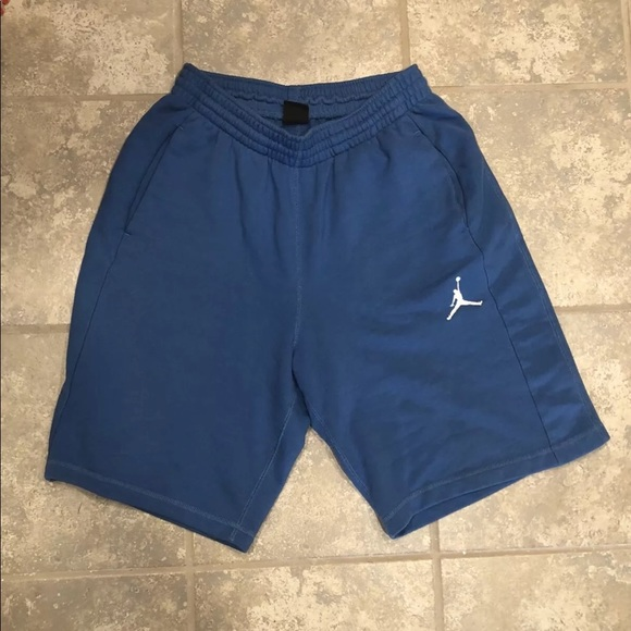 Other - Mens Jordan sweatshorts light blue large